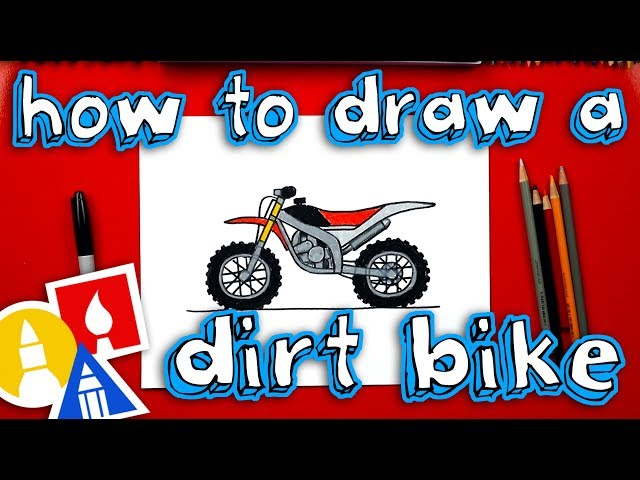 How To Draw A Dirt Bike Videos For Kids
