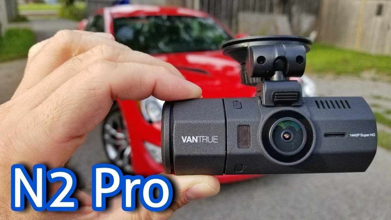 Best Dash Cam for UBER, Lyft & Taxis - Dual 1080P Cameras - Vantrue N2 Pro