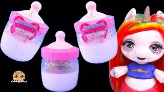 Giant Milk Bottle Surprise ! Smooshy Mushy Baby Squishy Blind Bags