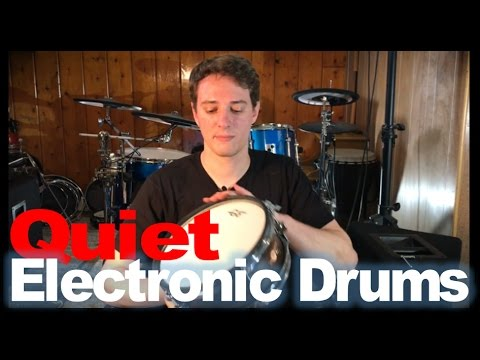 How To Make Your Electronic Drums Quieter