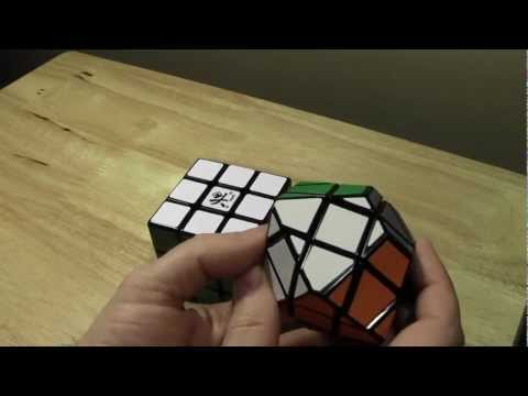 UFO Cube Tutorial - Two Complete Solves