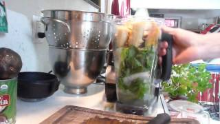 How To Make A Green Smoothie Basics For Beginners- Green Smoothie Recipe 2 Thumbnail