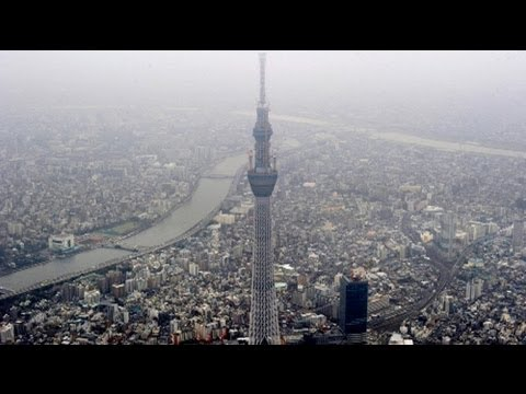 Tokyo Sky Tree opens to the public - no comment
