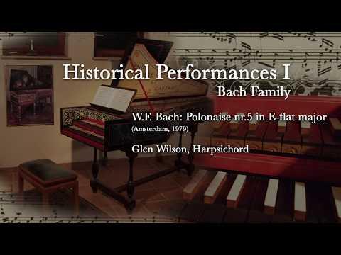 W.F. Bach - Polonaise Nr. 5 In E Flat Major