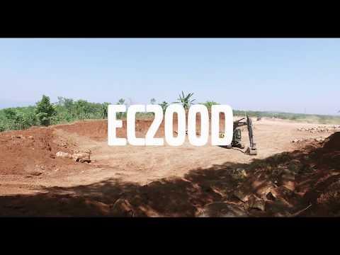 Volvo Introduce the EC200D crawler excavator in Asia Pacific