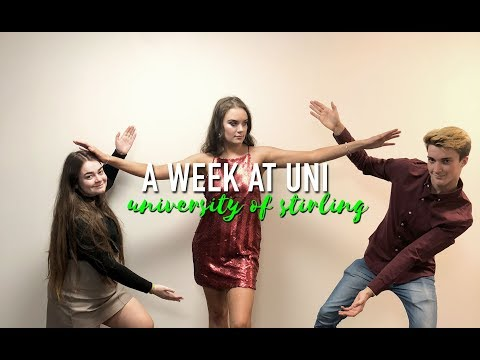 A WEEK AT UNI || University of Stirling