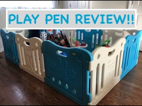 Baby Care Play Pen And Mat Review!