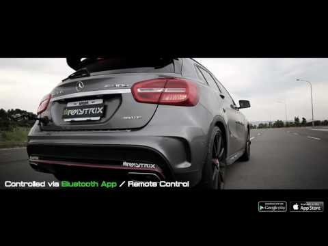 Mercedes-Benz GLA45 AMG | Armytrix Système Echappement VALVETRONIC | moteurs sons & bruit!