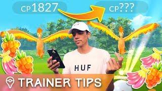 TESTING LEGENDARY TRICKS ✦ 100% CATCH RATE + CHANGE CP?? (Pokémon GO Legendary Raids)