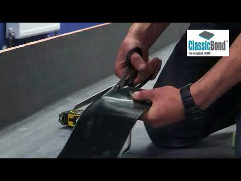 Installing ClassicBond ® EPDM and Sure Edge to Upstand