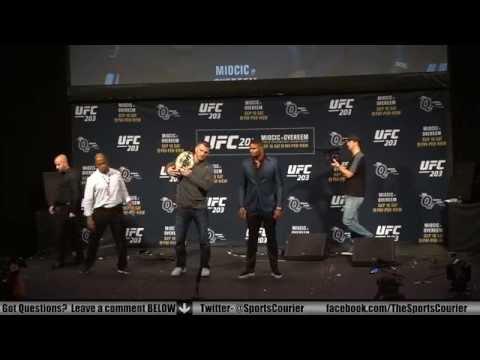 UFC 203 Staredowns: CM Punk vs. Gall, Miocic vs. Overeem, Werdum vs. Browne