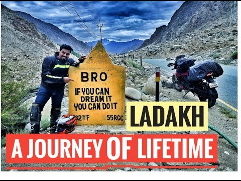 A Dream Ride | Mumbai ‐ Ladakh - Mumbai in 14 Days | Solo on Apache 200 : Don't blink