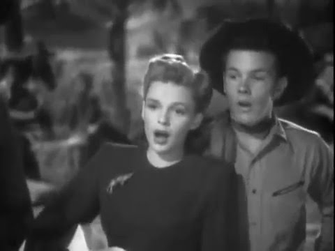 Judy Garland Stereo - Bidin' My Time - Girl Crazy 1943 - Mickey Rooney