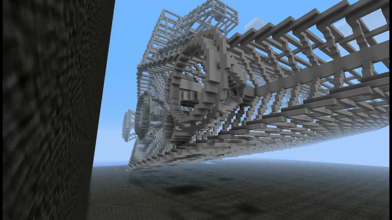 Minecraft Megaproject Imperial Star Destroyer Part 1