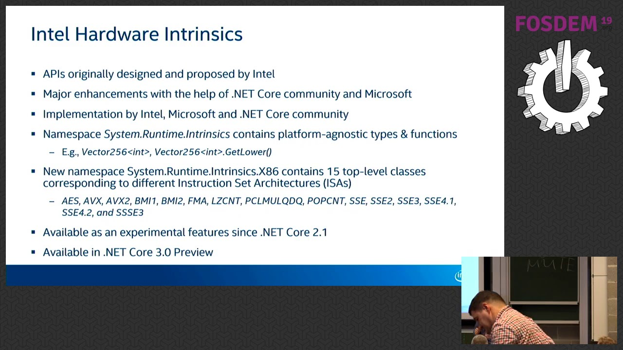 Intel® Hardware Intrinsics in  NET Core