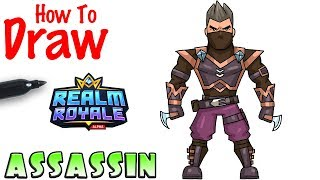 How to Draw Assassin | Realm Royale
