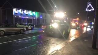 Abbeyshrule Christmas tractor run in aid of Mental Health Ireland and Tidy Towns