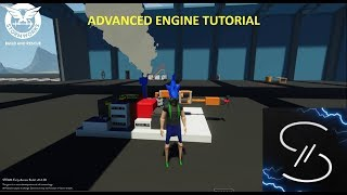 How To Build An Advanced Engine! | Stormworks Early Access