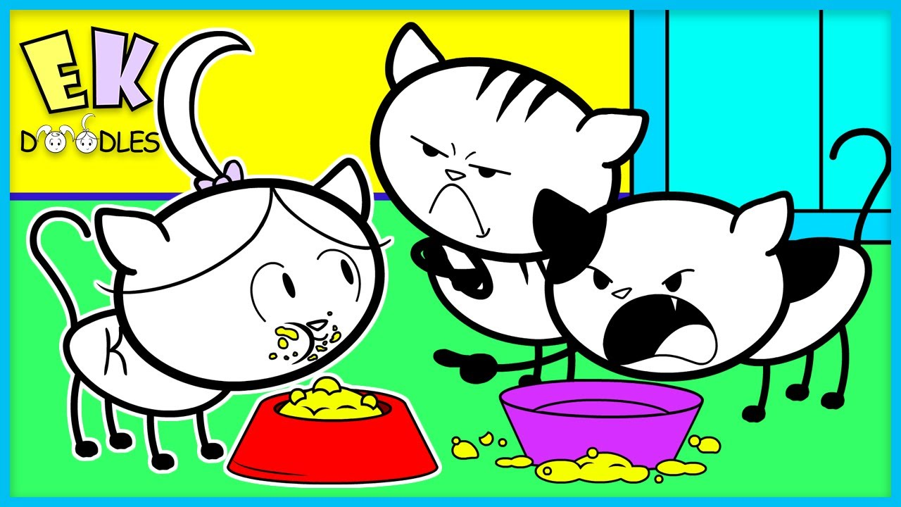 Download Magic Wand Pretend Play Family Fun with EK Doodles! Kate is a CAT!