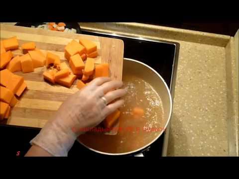 Суп чесночный из чечевицы