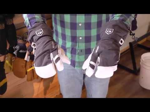 Hestra Heli 3 Finger Glove Review With Powder7 Youtube