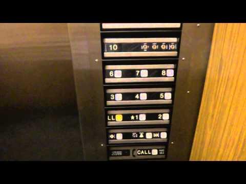 Dover traction elevator @ the Wells Fargo bank tower parking garage in El Paso TX
