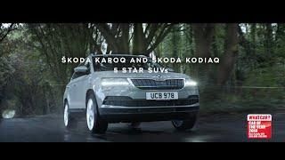 ŠKODA KAROQ and KODIAQ 5 Star SUVs