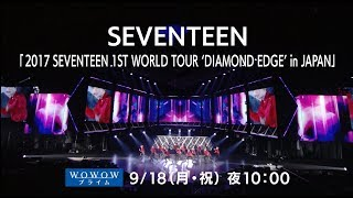 [TEASER] 2017 SEVENTEEN 1ST WORLD TOUR 'DIAMOND EDGE' in JAPAN (WOWOWダイジェスト映像)