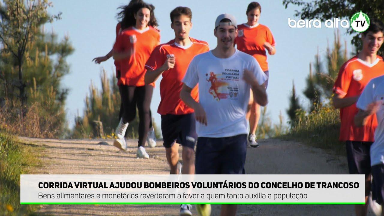 Corrida Solidária Virtual ajudou Bombeiros Voluntários do concelho de Trancoso