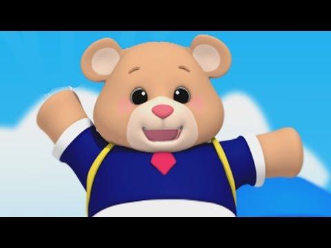 Luke & Lily - Teddy Bear Teddy Bear | Nursery Rhymes | Video For Kids