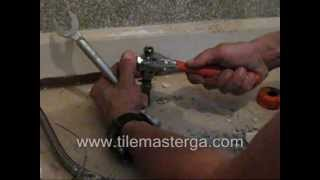 Shut off valve replacement - new compresion valve installation DIY  It takes 5 min !