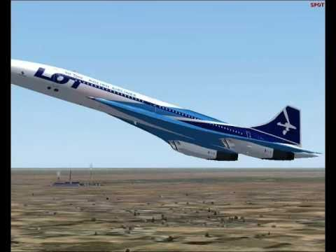 concorde lot polish airlines kpt zpool fly fs2004 wmv youtube