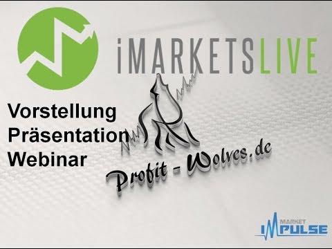 iMarketslive deutsch - imarketslive Präsentation - imarketslive erfahrung