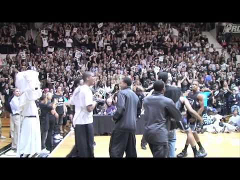 Providence College Friars 2010 Dunk Contest Men
