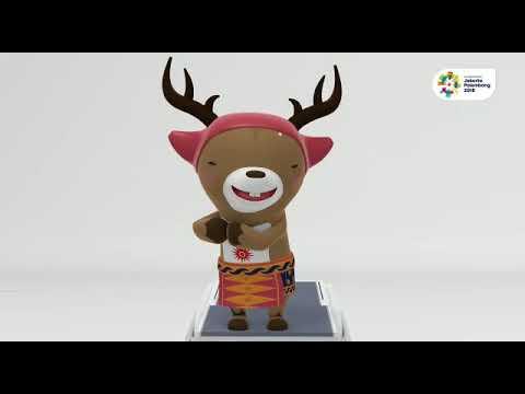 Maskot Asian Games: Bhin Bhin, Atung Dan Ika, Mau Tau Artinya?
