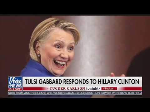 Tulsi: Hillary Called Me a 'Russian Asset' Because 'I Stand Against Everything She Represents'