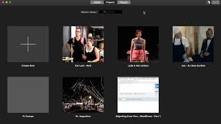 How to Export an iMovie Project