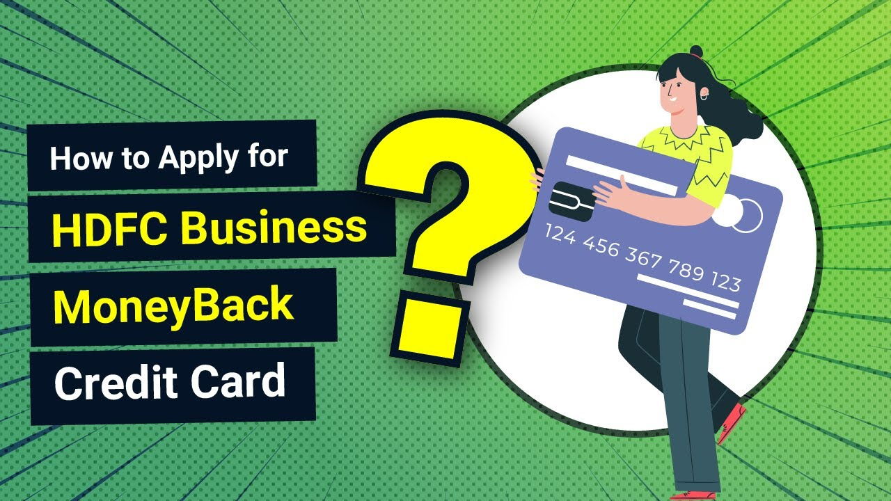 How to Apply for HDFC Business Money Back Credit Card - YouTube