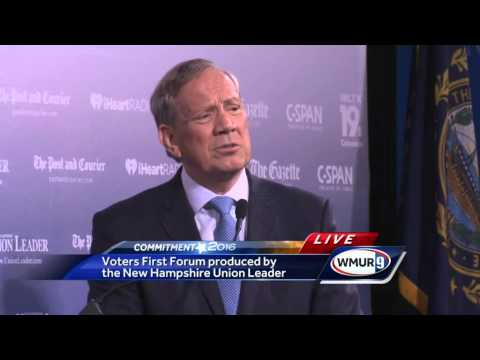 Voters First Forum: George Pataki on how 9/11 changed his life, second amendment, message to voters