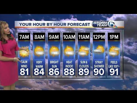 South Florida Thursday morning forecast (7/27/17)