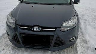 Потрёпанный Жизнью Ford Focus 1.6 Tdci Без Сервиски И Без Пробега)