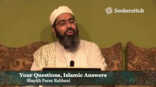 why is allah withholding rizq provision from me islam faq with shaykh faraz rabbani