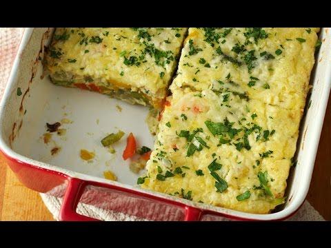 Easy Cheesy Quiche Slice | One Pot Chef