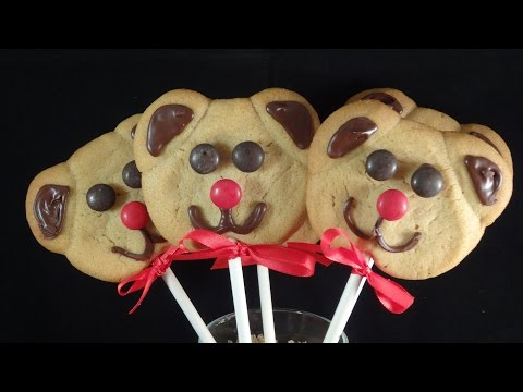 Teddy Bear Cookie Pops -with yoyomax12