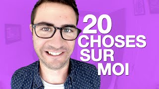 CYPRIEN - 20 FACTS ABOUT ME !