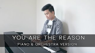 You Are The Reason - Calum Scott  Piano & Orchestra  Cover