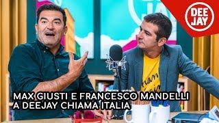 """Deejay Chiama Italia: Max Giusti e Francesco Mandelli presentano """"Appena un minuto"""""""