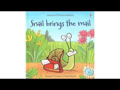 Snail brings the mail l English stories for kids l learning resources l kids learning