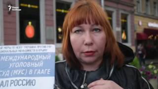 Пикеты в поддержку крымских татар