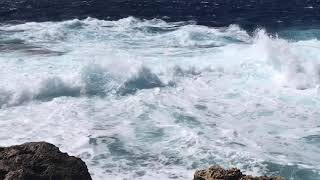 August Wind In the Mediterranean See  Maltese Islands